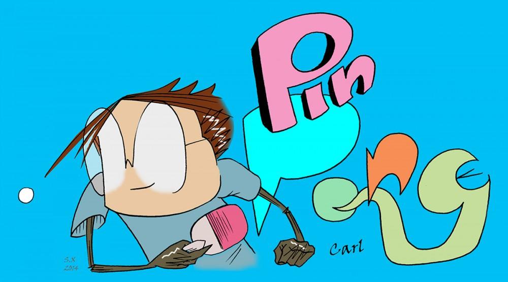 pin pong comix